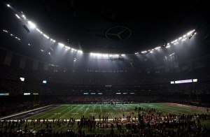 super bowl blackout